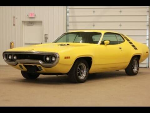 1971 Plymouth Roadrunner for sale at NJ Enterprises in Indianapolis IN