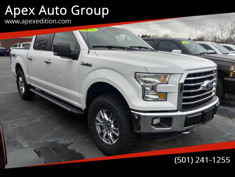 2016 Ford F-150 for sale at Apex Auto Group in Cabot AR