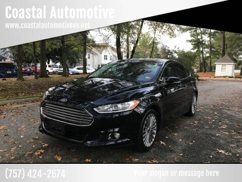 2014 Ford Fusion for sale at Coastal Automotive in Virginia Beach VA