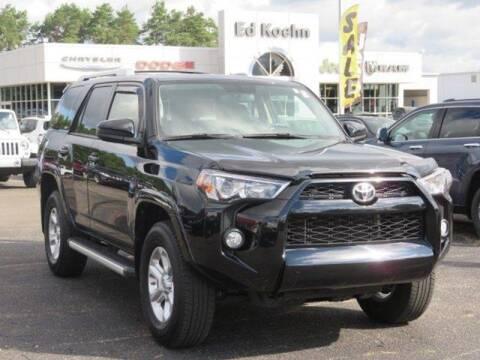 2018 Toyota 4Runner for sale at Ed Koehn Chevrolet in Rockford MI