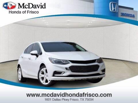 2017 Chevrolet Cruze for sale at DAVID McDAVID HONDA OF IRVING in Irving TX