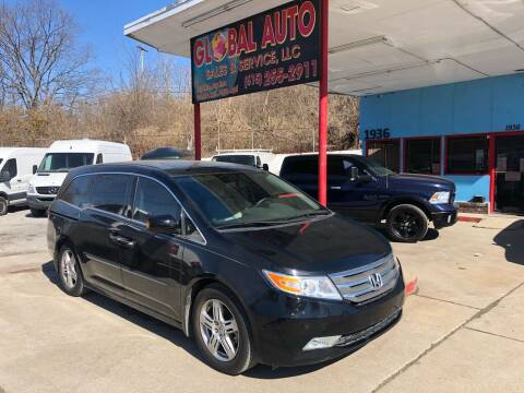 2013 Honda Odyssey for sale at Global Auto Sales and Service in Nashville TN