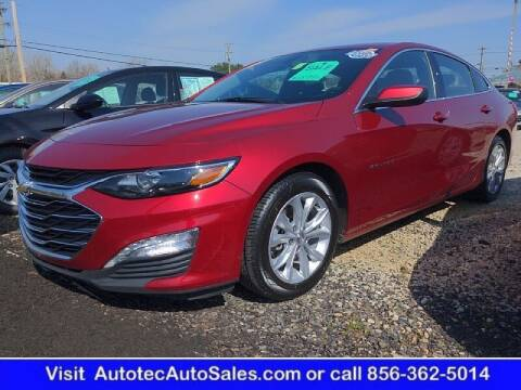 2019 Chevrolet Malibu for sale at Autotec Auto Sales in Vineland NJ