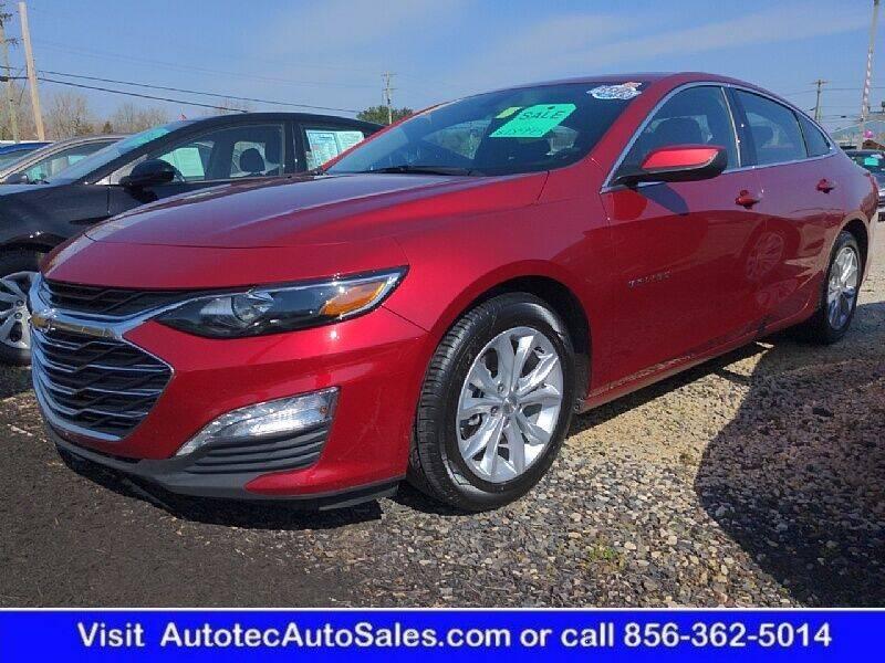 2019 Chevrolet Malibu for sale at Autotec Auto Sales in Vineland NJ