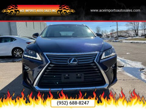 2017 Lexus RX 350 for sale at ACE IMPORTS AUTO SALES INC in Hopkins MN