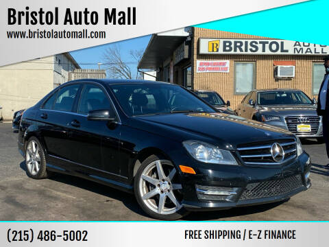 2014 Mercedes-Benz C-Class for sale at Bristol Auto Mall in Levittown PA