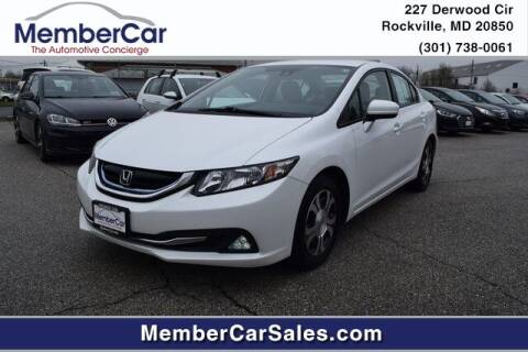 2014 Honda Civic for sale at MemberCar in Rockville MD