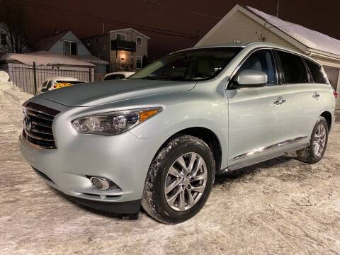 2013 Infiniti JX35 for sale at Western Star Auto Sales in Chicago IL