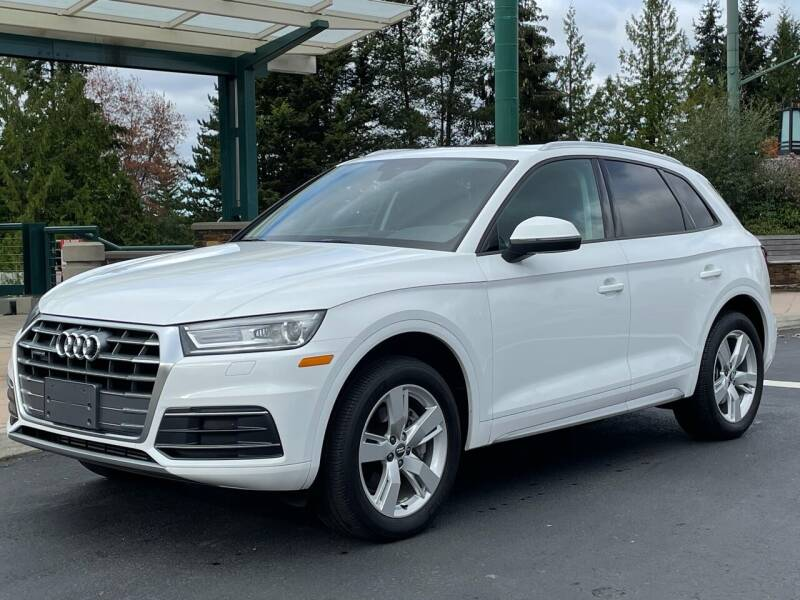 2018 Audi Q5 for sale at GO AUTO BROKERS in Bellevue WA