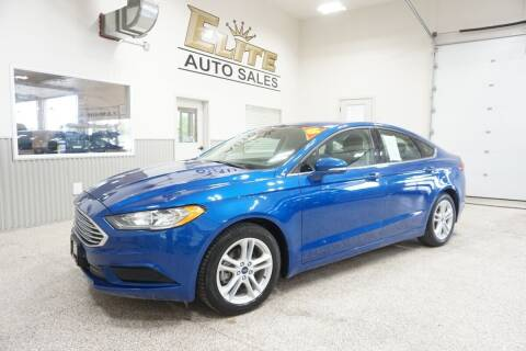 2018 Ford Fusion for sale at Elite Auto Sales in Ammon ID