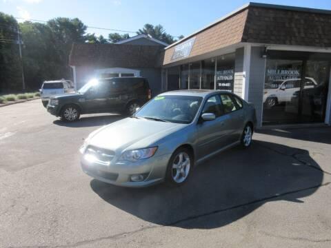 2009 Subaru Legacy for sale at Millbrook Auto Sales in Duxbury MA