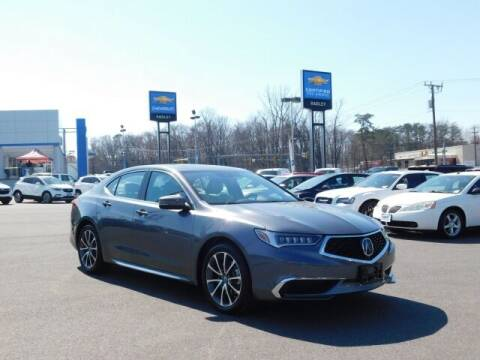 2018 Acura TLX for sale at Radley Cadillac in Fredericksburg VA