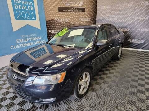 2006 Hyundai Sonata for sale at X Drive Auto Sales Inc. in Dearborn Heights MI