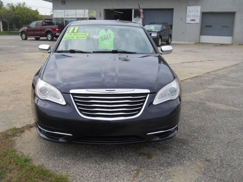 2011 Chrysler 200 for sale at Shaw Motor Sales in Kalkaska MI