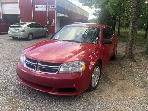2014 Dodge Avenger for sale at Noble PreOwned Auto Sales in Martinsburg WV