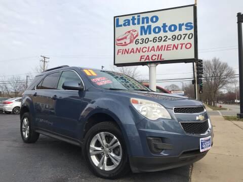 2011 Chevrolet Equinox for sale at Latino Motors in Aurora IL