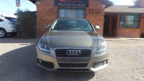 2009 Audi A4 for sale at Auto Click in Tucson AZ