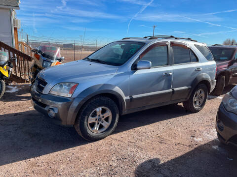 2005 Kia Sorento for sale at PYRAMID MOTORS - Fountain Lot in Fountain CO