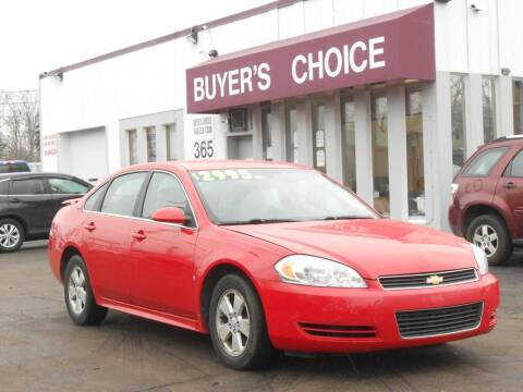 2009 Chevrolet Impala for sale at Buyers Choice Auto Sales in Bedford OH