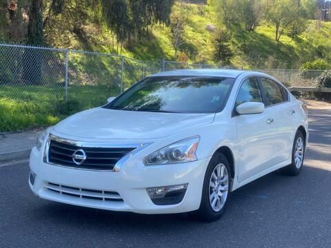 2014 Nissan Altima for sale at ZaZa Motors in San Leandro CA