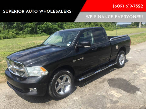 2010 Dodge Ram Pickup 1500 for sale at Superior Auto Wholesalers in Burlington City NJ