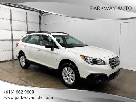 2017 Subaru Outback for sale at PARKWAY AUTO in Hudsonville MI