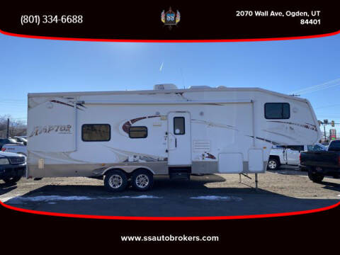 2009 Keystone RAPTOR RP299 for sale at S S Auto Brokers in Ogden UT