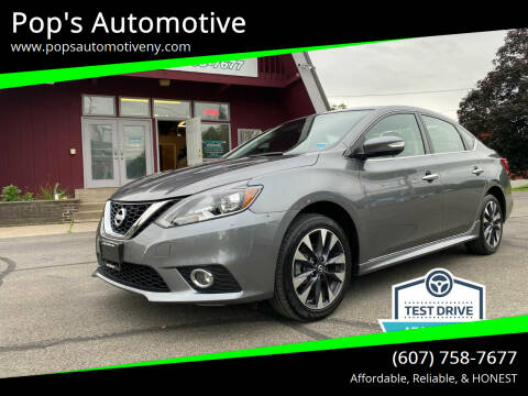 2016 Nissan Sentra for sale at Pop's Automotive in Homer NY
