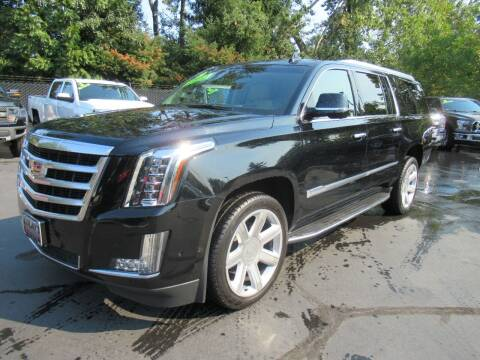 2018 Cadillac Escalade ESV for sale at LULAY'S CAR CONNECTION in Salem OR