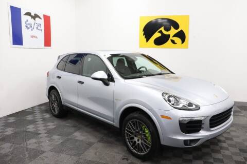 2017 Porsche Cayenne for sale at Carousel Auto Group in Iowa City IA