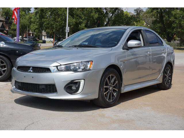 2017 Mitsubishi Lancer for sale at Monthly Auto Sales in Fort Worth TX