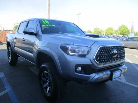 2018 Toyota Tacoma for sale at Choice Auto & Truck in Sacramento CA