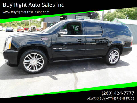 2014 Cadillac Escalade ESV for sale at Buy Right Auto Sales Inc in Fort Wayne IN