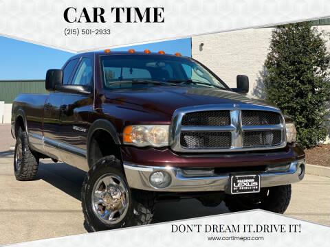 2004 Dodge Ram Pickup 2500 for sale at Car Time in Philadelphia PA