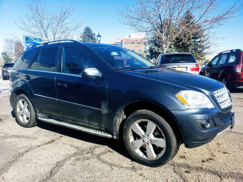 2010 Mercedes-Benz M-Class for sale at J & M PRECISION AUTOMOTIVE, INC in Fort Collins CO