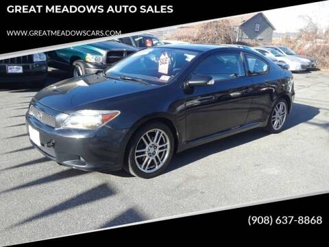 2006 Scion tC for sale at GREAT MEADOWS AUTO SALES in Great Meadows NJ