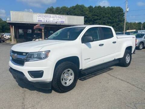 2017 Chevrolet Colorado for sale at Greenbrier Auto Sales in Greenbrier AR