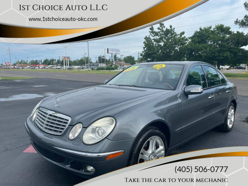 2006 Mercedes-Benz E-Class for sale at 1st Choice Auto L.L.C in Oklahoma City OK
