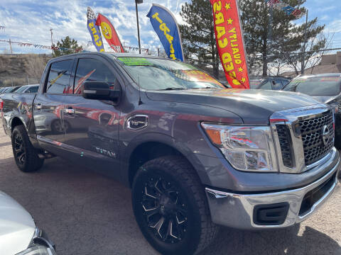 2017 Nissan Titan for sale at Duke City Auto LLC in Gallup NM