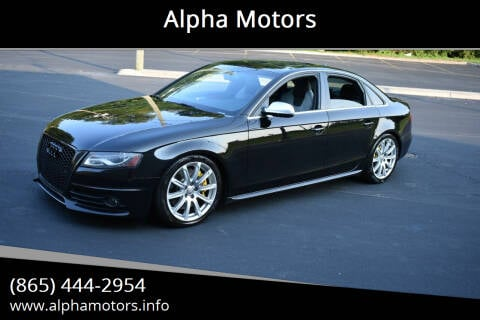 2011 Audi S4 for sale at Alpha Motors in Knoxville TN