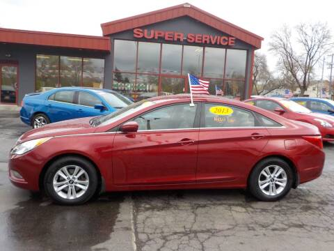 2013 Hyundai Sonata for sale at Super Service Used Cars in Milwaukee WI