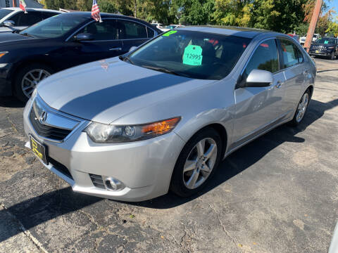 2012 Acura TSX for sale at PAPERLAND MOTORS - Fresh Inventory in Green Bay WI
