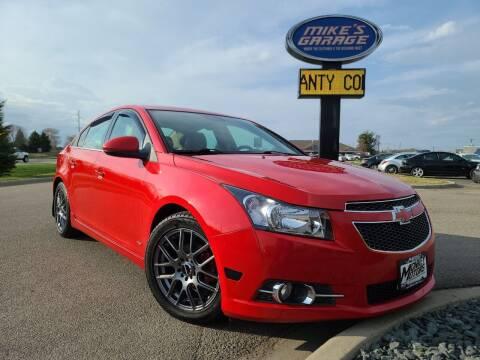 2014 Chevrolet Cruze for sale at Monkey Motors in Faribault MN