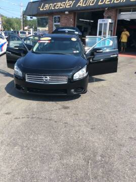 2011 Nissan Maxima for sale at Lancaster Auto Detail & Auto Sales in Lancaster PA