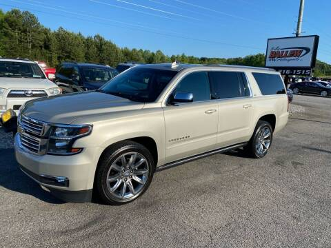 2016 Chevrolet Suburban for sale at Billy Ballew Motorsports in Dawsonville GA