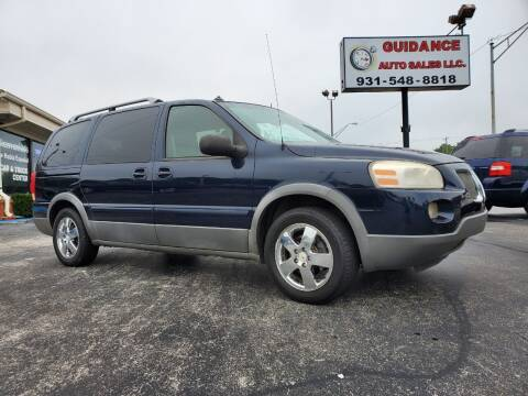 2005 Pontiac Montana SV6 for sale at Guidance Auto Sales LLC in Columbia TN