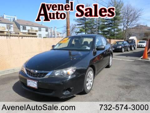 2008 Subaru Impreza for sale at Avenel Auto Sales in Avenel NJ