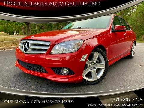2010 Mercedes-Benz C-Class for sale at North Atlanta Auto Gallery, Inc in Alpharetta GA