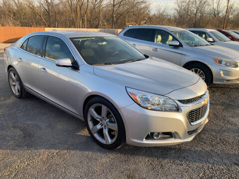 2015 Chevrolet Malibu for sale at Ol Mac Motors in Topeka KS