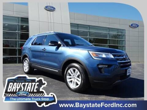 2018 Ford Explorer for sale at Baystate Ford in South Easton MA